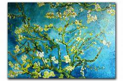 """Kwitnący migdałowiec"" .V.van Gogh"