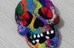 Przypinka skull