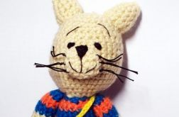 Kot w pasiastym sweterku