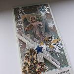 Boże Narodzenie, kartka z Aniołem