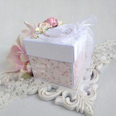 Exploding box z aniołkiem na chrzest 103