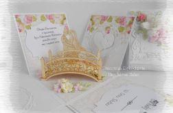 Ślubny box z mostkiem i Parą Młodą