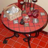 czerwona szachownica