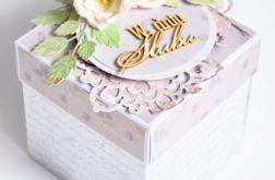 Exploding box na ślub piękny