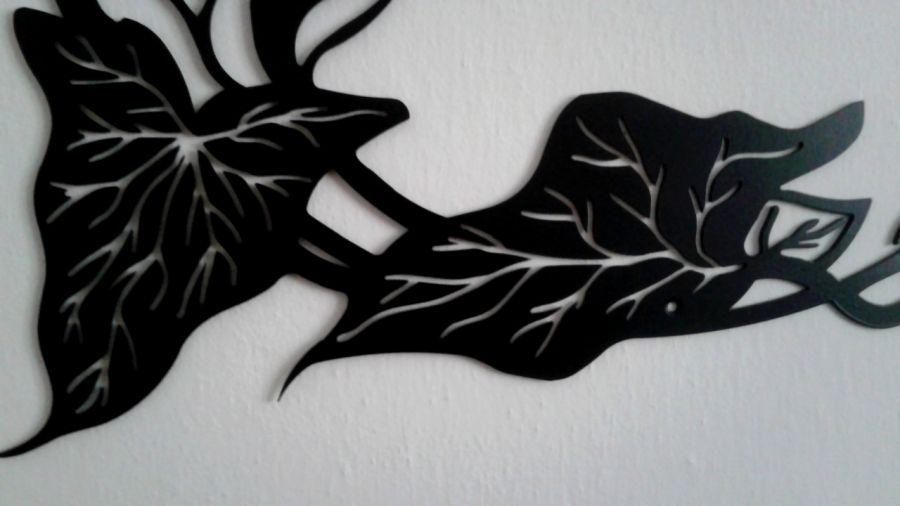 Dekoracja ścienna metal ART-DECO duże