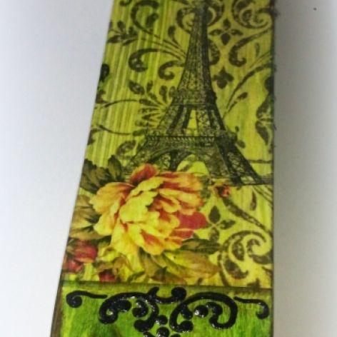 Szczotka do ubrań bądź butów - jak kto woli - Paris - Decoupage