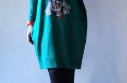 Sukienka oversize z kieszeniami 05