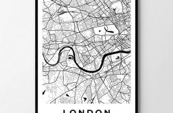 Plakat obraz Londyn 50X70 B2