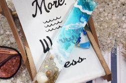 Zakładka do książki - niebieskie morze