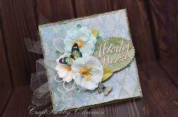 Młodej Parze - z motylami