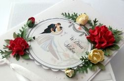 Ślubna fantazja - kartka na ślub