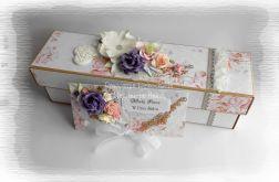 Eko pudełko i kopertówka ślubna #2