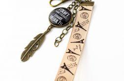Motywacyjny brelok do kluczy lub torebki