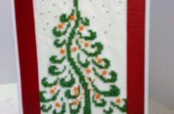 Kartka świąteczna -choinka