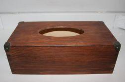 Chustecznik-pudełko na chusteczki Teak