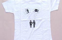 """rozmiar L koszulka dla par - """"Marzenia"""""""