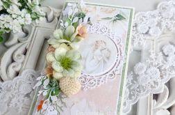 Ślubna kartka w pudełku 255
