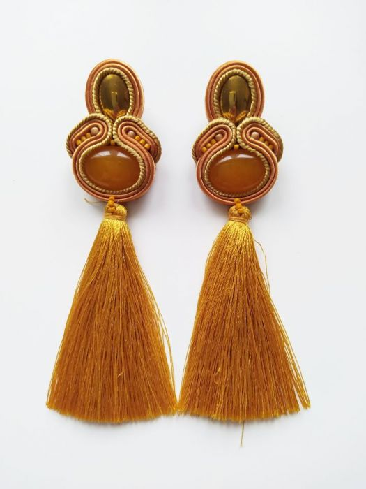 kolczyki sutasz Egipt etno boho