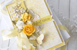 """Kartka urodzinowa w pudełku """"Pełna słońca"""""""
