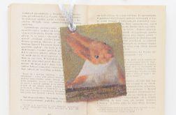 Zakładka do książki z wiewiórką - nr 7