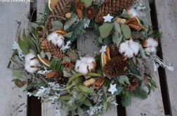wianek Bożonarodzeniowy naturalny