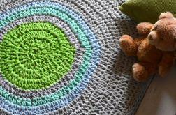 bawełniany dywan szary