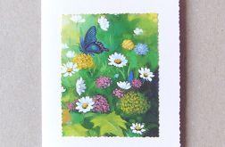 Kartka uniwersalna z motylkiem - 3