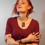 Ślady - miedziana bransoletka 201218-02 - miedziana biżuteria