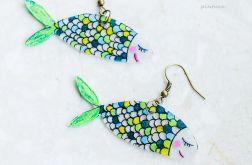 Kolczyki morskie Rybki