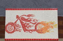 Mozaika unikat motocykl motor