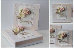 Ślub - pudełko z kartką 14x14