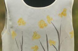 Bluzka jedwabna - gałązki