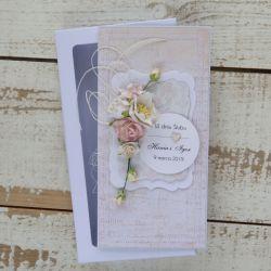 Kartka ślubna z personalizacją + pudełko a10