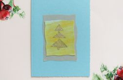 Kartka świąteczna minimalizm 91