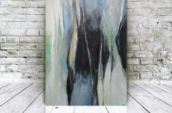Abstrakcja-obraz akrylowy