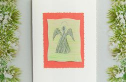 Kartka  świąteczna minimalizm 9