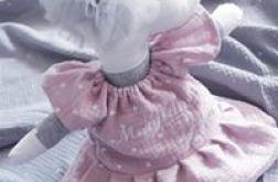 Przytulanka sarenka sukienka haft imiennny
