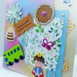 Kartka urodzinowa dziecięca #2 - 4