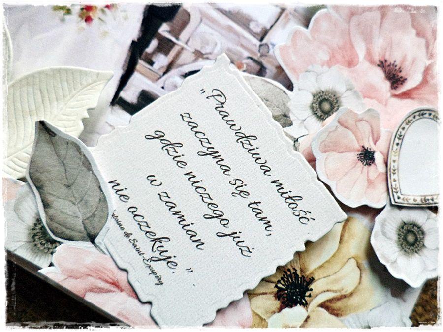 Prawdziwa miłość - kartka ślubna