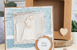 Kartka ślubna w pudełeczku (s02)