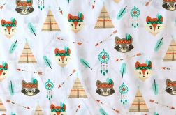 Tkanina bawełna dla dzieci misie