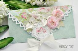 Kopertówka urodzinowa w różach