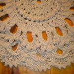 Dywan okrągły ręcznie robiony