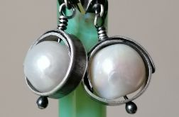 Duże perły ze srebrem
