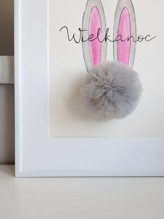 Obrazek/Plakat Wielkanoc + RAMKA