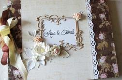 Ślubny album z motywem róż#2