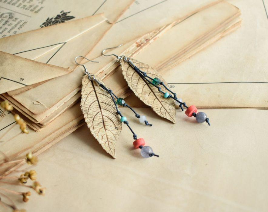 Długie kolczyki Gypsy