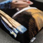 Poduszka - Kobieta z perłą, Vermeer