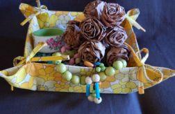 Koszyk na pieczywo - żółty