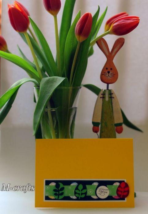 Kolorowa Kartka Wielkanocna...